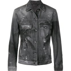 Philipp Plein palm tree print jacket - Grey found on MODAPINS from FARFETCH.COM Australia for USD $816.10