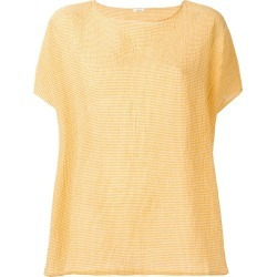 Apuntob gingham check top - Yellow found on MODAPINS from FarFetch.com - US for USD $189.00