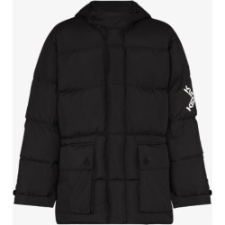 Kenzo Mens Black Hooded Padded Jacket found on Bargain Bro UK from Browns Fashion