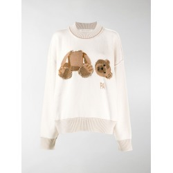 Palm Angels intarsia-knit jumper found on Bargain Bro UK from MODES GLOBAL