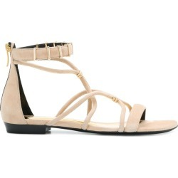 Barbara Bui open-toe strapped sandals - Neutrals found on MODAPINS from FARFETCH.COM Australia for USD $375.63