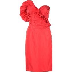 Alexa Chung ruffled stripeless dress - Red found on MODAPINS from FarFetch.com - US for USD $850.00