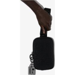 Dolce & Gabbana Mens Black Embossed Logo Camera Bag found on Bargain Bro UK from Browns Fashion