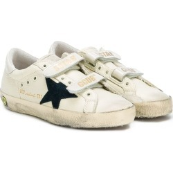 Golden Goose Kids Super Star touch-strap sneakers - Neutrals found on Bargain Bro UK from FarFetch.com- UK