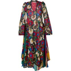 Anjuna floral flared maxi dress - Black found on MODAPINS from FARFETCH.COM Australia for USD $437.80