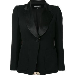 Ann Demeulemeester striped blazer back jacket - Black found on MODAPINS from FarFetch.com - US for USD $1303.00