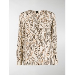 Aspesi paisley print blouse found on MODAPINS from MODES GLOBAL for USD $315.62