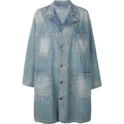 6397 distressed denim coat - Blue found on MODAPINS from FarFetch.com- UK for USD $876.51