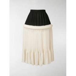 JW Anderson drop-waist knife-pleat skirt found on Bargain Bro UK from MODES GLOBAL