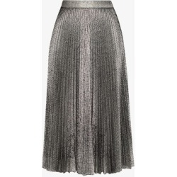 Christopher Kane Womens Black Pleated Lamé Midi Skirt found on MODAPINS from Browns Fashion for USD $710.97