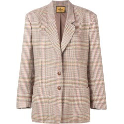 Fendi Vintage 1980's checked blazer - Brown found on MODAPINS from FarFetch.com- UK for USD $319.97