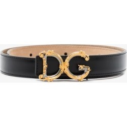 Dolce & Gabbana Womens Black Dolce Belt found on Bargain Bro UK from Browns Fashion