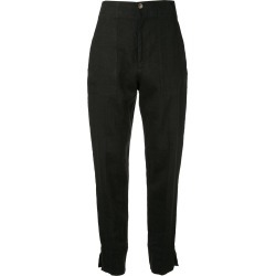 Bassike high-waist tapered trousers - Black found on MODAPINS from FarFetch.com - US for USD $695.00