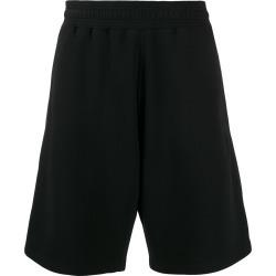 Givenchy two-fabric loose-fit running shorts - Black