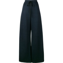 Adam Lippes drawstring wide-leg trousers - Blue found on MODAPINS from FarFetch.com - US for USD $357.00