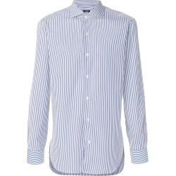 Barba striped shirt - Blue found on MODAPINS from FarFetch.com- UK for USD $171.09