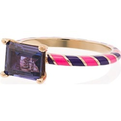 Alice Cicolini 14k Yellow Gold Candy Kimono Violet Blue Sapphire Ring found on Bargain Bro India from FarFetch.com - US for $3737.00