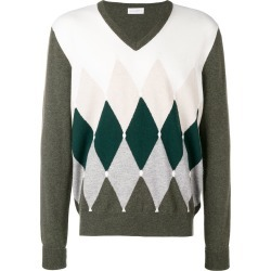 Ballantyne diamond instarsia sweater - Green found on MODAPINS from FarFetch.com - US for USD $403.00