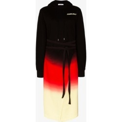 Ambush Womens Black Tie-dye Split Hem Hoodie Dress found on MODAPINS from Browns Fashion for USD $914.30