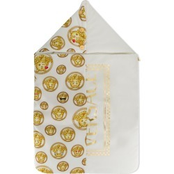 Young Versace Emoji Medusa pattern nest - White found on Bargain Bro India from FARFETCH.COM Australia for $335.48