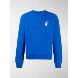 Off-White Cut Here logo-print sweatshirt found on Bargain Bro UK from MODES GLOBAL