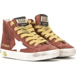 Golden Goose Kids 'Francy' hi-top sneakers - Red found on Bargain Bro UK from FarFetch.com- UK