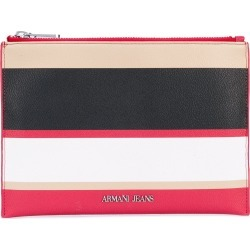Armani Jeans striped wallet - Purple found on MODAPINS from FARFETCH.COM Australia for USD $92.15