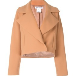 Bianca Spender Aviator cropped jacket - Neutrals found on MODAPINS from FarFetch.com - US for USD $324.00