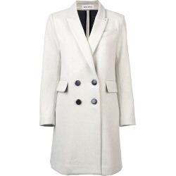 Beau Souci Officer double-breasted coat - Neutrals found on MODAPINS from FARFETCH.COM Australia for USD $2735.50