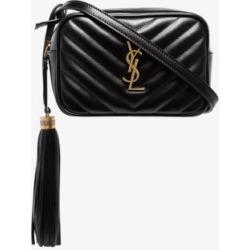 Saint Laurent Womens Black Lou Leather Belt Bag found on Bargain Bro UK from Browns Fashion