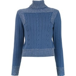Framed Moon knitted top - Blue found on MODAPINS from FarFetch.com- UK for USD $177.90