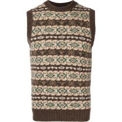 Lardini patterned sleeveless jumper - Neutrals