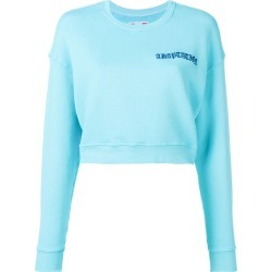 Adaptation cropped sweatshirt - Blue found on MODAPINS from FARFETCH.COM Australia for USD $299.85