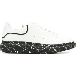 Alexander McQueen painted sole lace-up sneakers - White found on Bargain Bro UK from FarFetch.com- UK