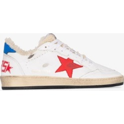 Golden Goose White Ball Star sneakers found on Bargain Bro UK from Browns Fashion