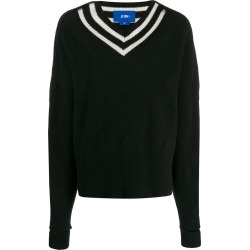 Ji Oh stripe-detail sweater found on MODAPINS from Eraldo for USD $320.88