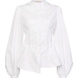 Aganovich balloon sleeves shirt - White found on MODAPINS from FarFetch.com - US for USD $769.00