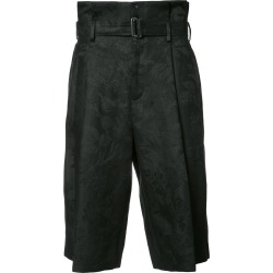 Aganovich belted cropped trousers - Black found on MODAPINS from FarFetch.com- UK for USD $684.84