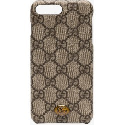 Gucci Ophidia iPhone 8 Plus case found on Bargain Bro UK from Browns Fashion