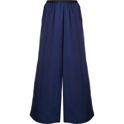 Antonio Marras wide-leg flared trousers - Blue found on MODAPINS from FarFetch.com - US for USD $329.00