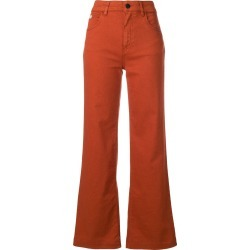Alexa Chung flared trousers - Orange found on MODAPINS from FarFetch.com- UK for USD $217.89