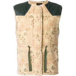 Isabel Marant padded waistcoat - Yellow found on MODAPINS from FarFetch.com- UK for USD $400.27