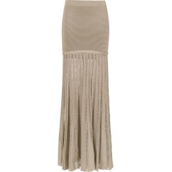 Andrea Bogosian long knit skirt - Neutrals found on MODAPINS from FarFetch.com - US for USD $1107.00