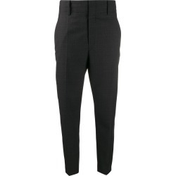 Isabel Marant Étoile check pattern high-waisted trousers - Grey found on Bargain Bro Philippines from FarFetch.com - US for $380.00