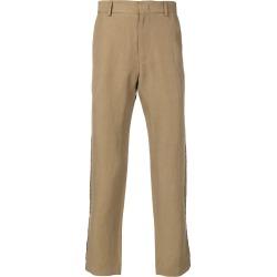Maison Flaneur straight trousers - Neutrals