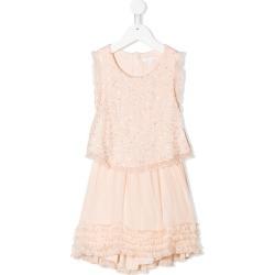 Chloé embellished shift dress - Neutrals found on Bargain Bro UK from FarFetch.com- UK