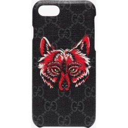 Gucci iPhone 8 Wolf Motif Phone Case found on Bargain Bro UK from Browns Fashion