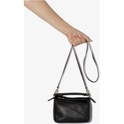 Loewe Womens Black Mini Puzzle Bag found on Bargain Bro UK from Browns Fashion