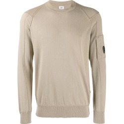 CP Company goggle lens patch sweater - Neutrals found on Bargain Bro UK from FarFetch.com- UK
