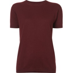 Alexandra Golovanoff short sleeve knit top - Red found on MODAPINS from FarFetch.com - US for USD $285.00